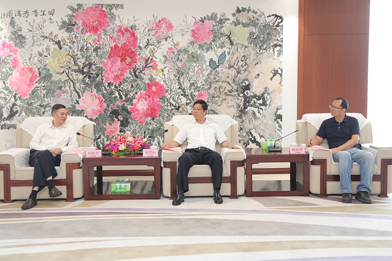 容贤标会见中冶(贵州)建设投资发展有限公司党委书记、董事长田执祥一行